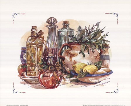 Spiced Oil and Vinegar Collection I by Jerianne Van Dijk art print
