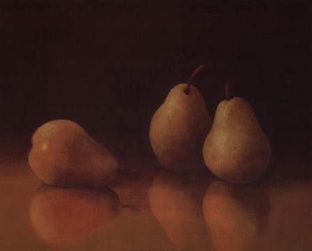 Pear Still Life by T.C. Chiu art print